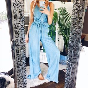 d5573728c12 Pants - GIRL BOSS Light Washed Denim Jumpsuit Romper B103